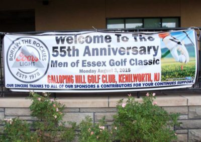 Men of Essex 55th Annual Golf Classic
